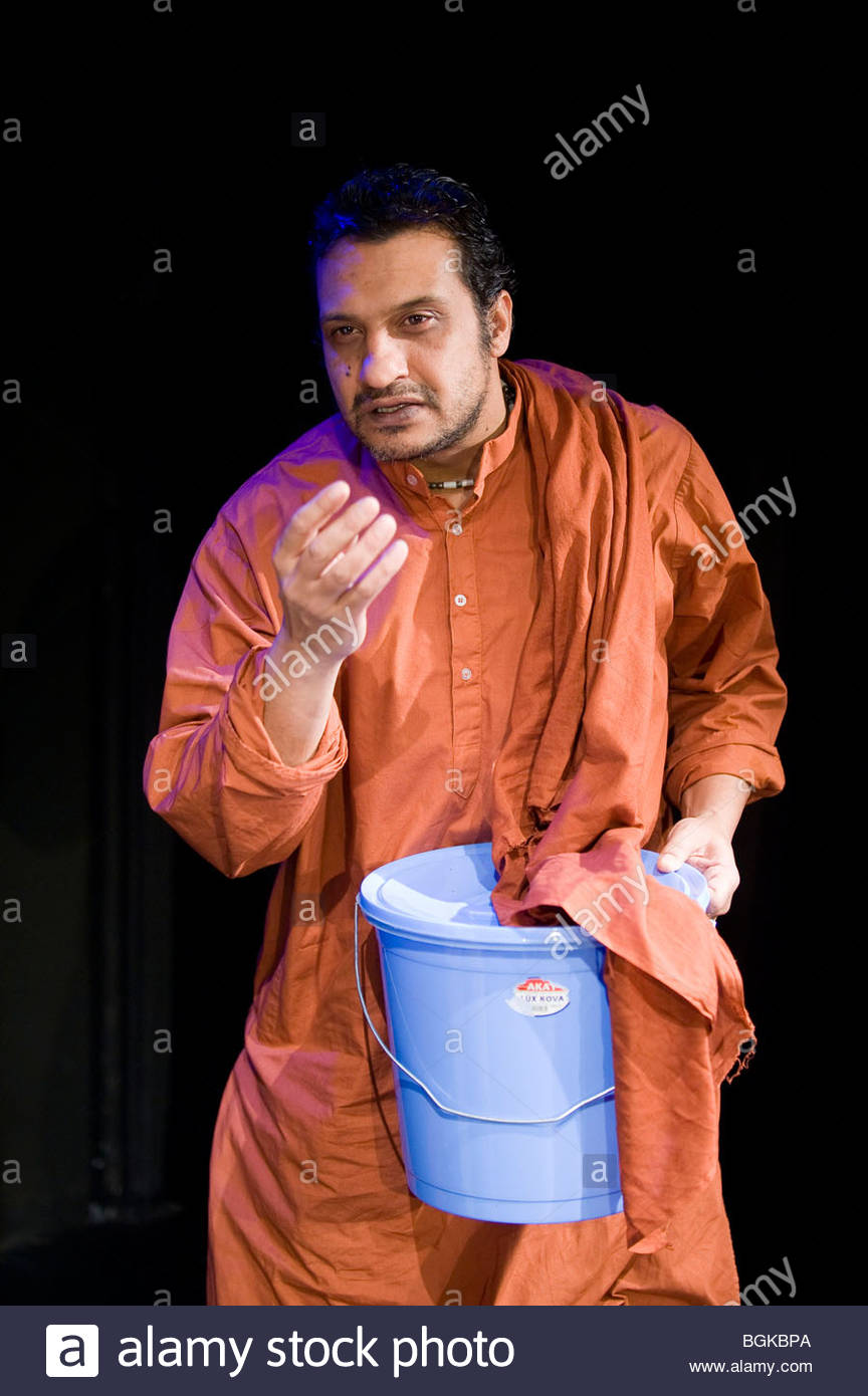 A British Subject by Nichola McAuliffe,directed by Hannah Eidinow. With Kulvinder Ghir. - Stock Image