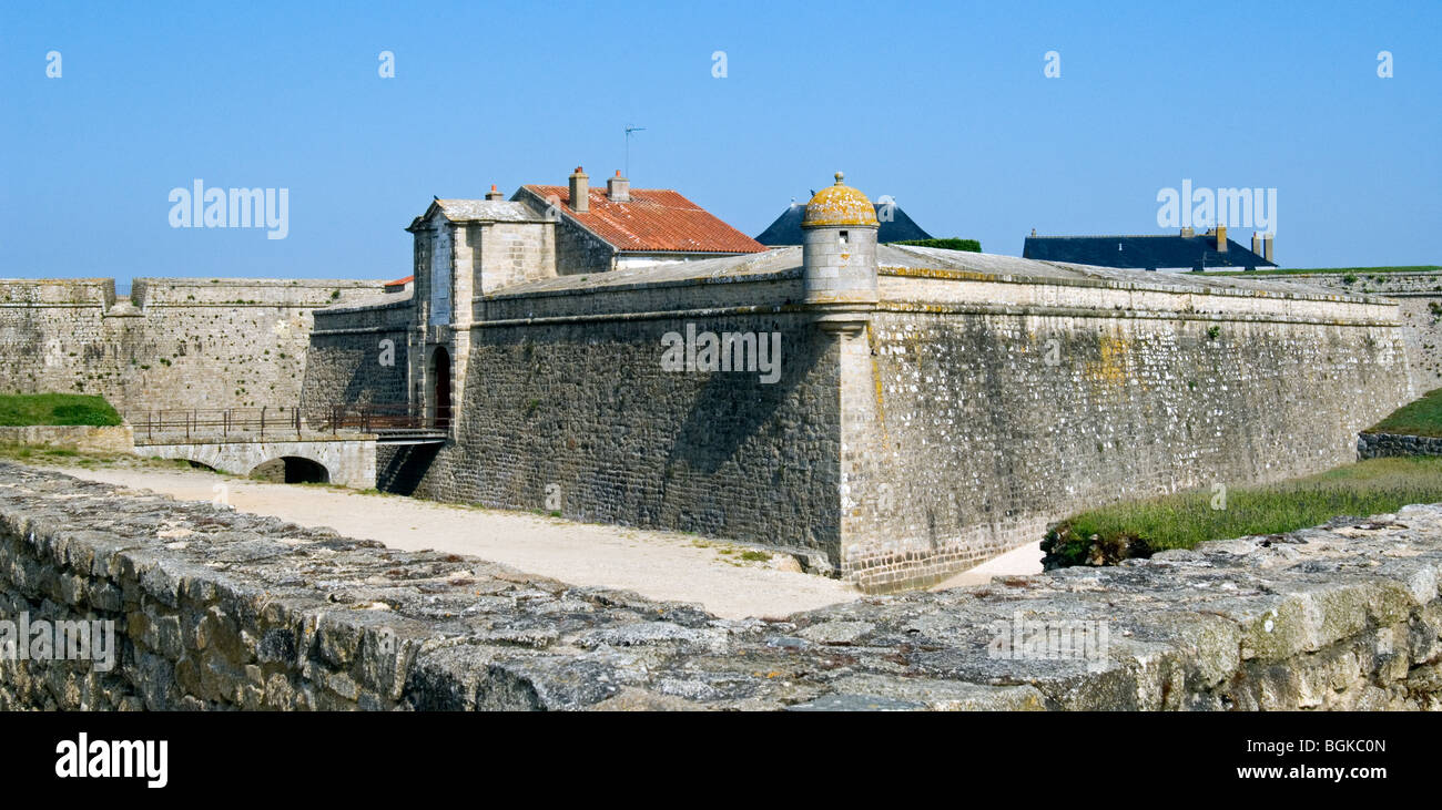 The citadel of Port-Louis, Morbihan, Brittany, France Stock Photo