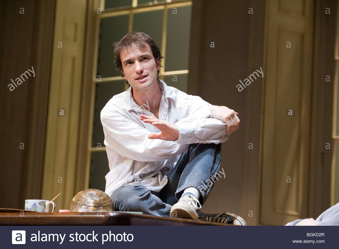 Arcadia by Tom Stoppard,directed by David Leveaux. Stock Photo