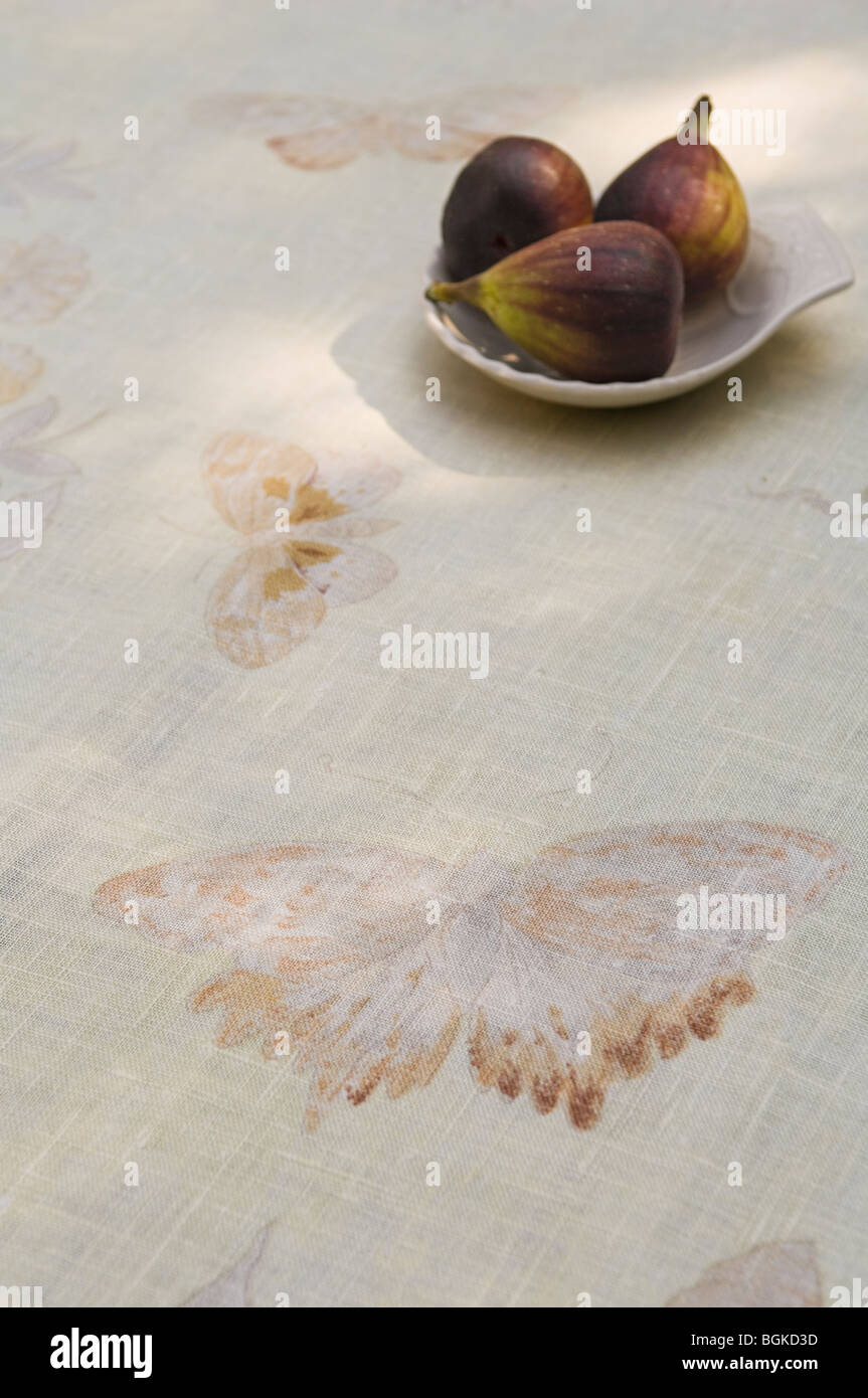 Selection of fabric and textiles by Jim Thompson - Stock Image
