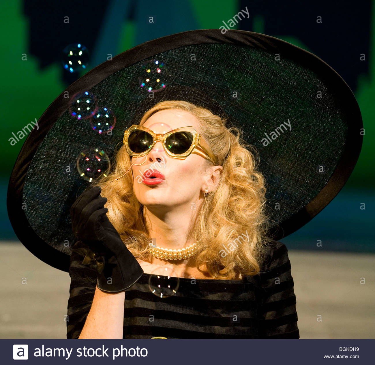 Breakfast at Tiffany's by Truman Capote,adapted by Samuel Adamson directed by Sean Mathias - Stock Image