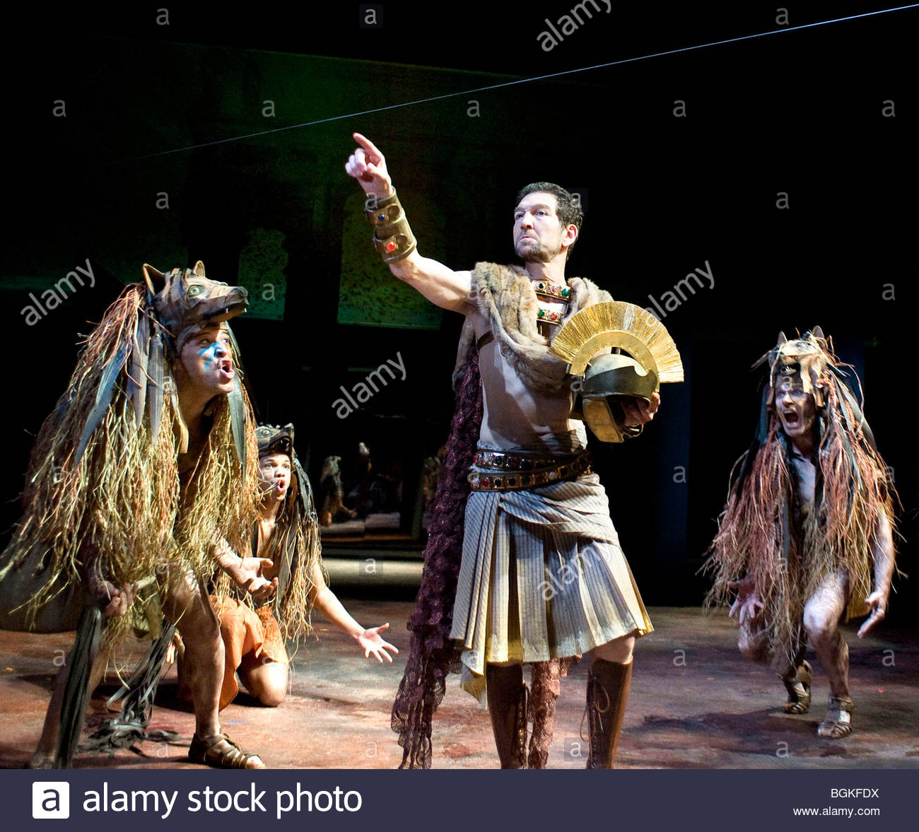 Julius Caesar by William Shakespeare,A Royal Shakespeare Company Production directed by Lucy Bailey - Stock Image