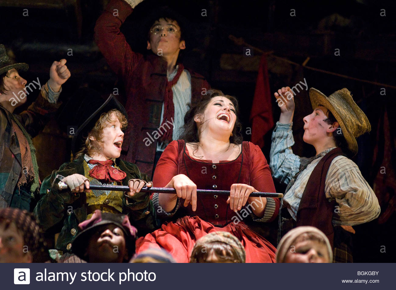 Oliver by Lionel Bart,directed by Rupert Goold,Choreographed by Matthew Bourne - Stock Image