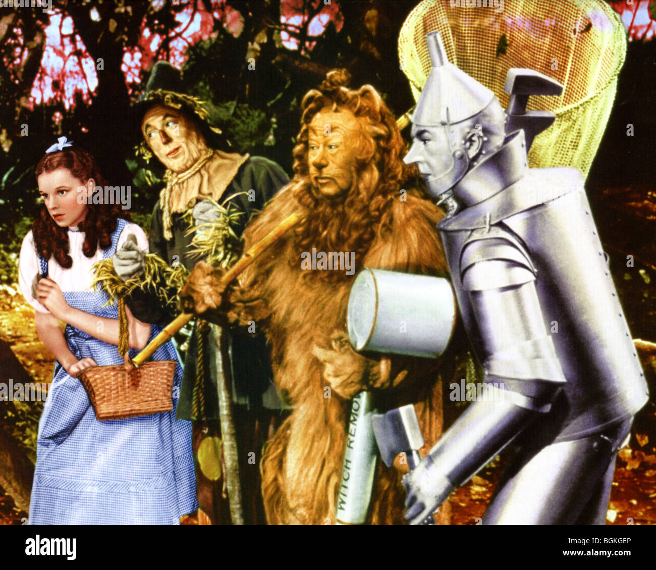 The Wizard Of Oz 1939 Mgm Film With Judy Garland See Description