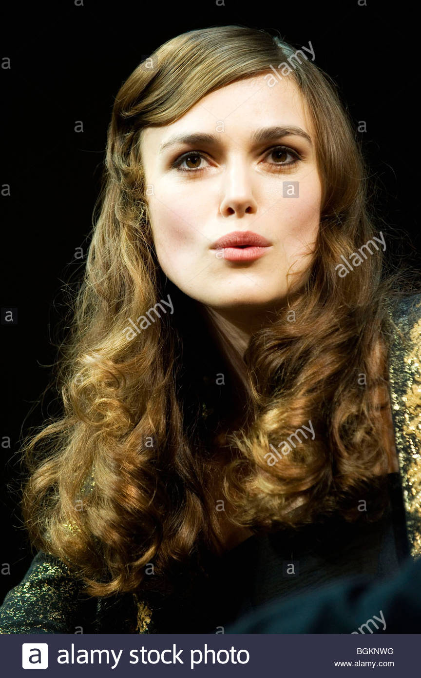 The Misanthrope by Moliere,a version by Martin Crimp directed by Thea Sharrock.With Keira Knightley - Stock Image