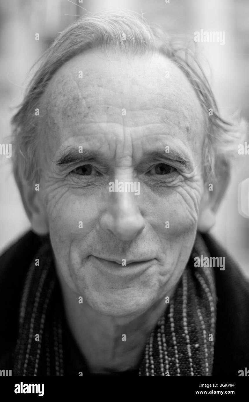 Faces of London- man in his sixties photographed in St James's London UK - Stock Image