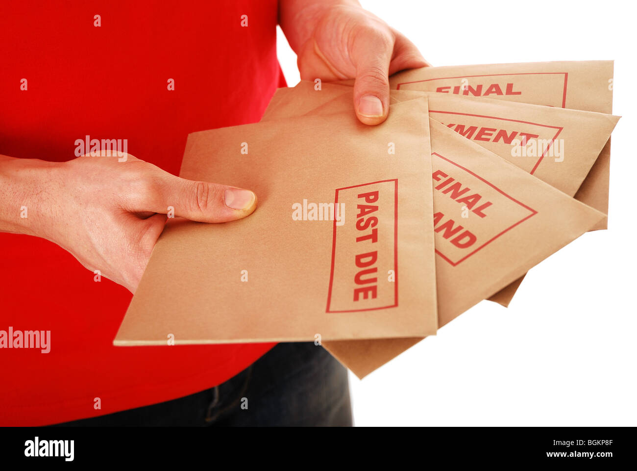 Final Demand - Stock Image