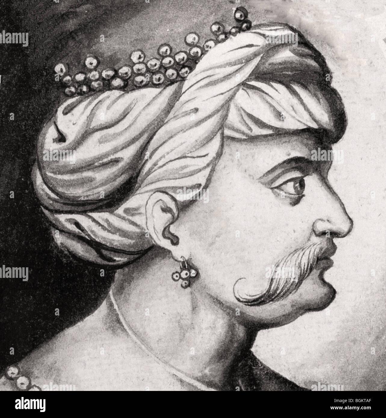SELIM  I, THE GRIM Ottoman Sultan of Turkey (1467-1520) - Stock Image
