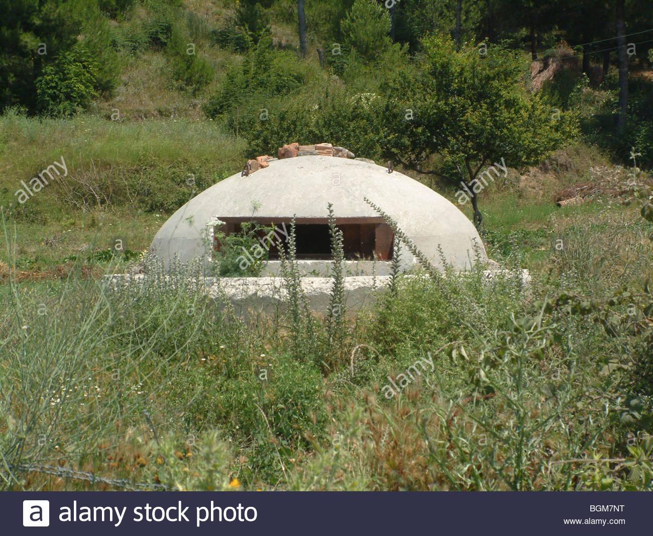 Albania bunker - Stock Image