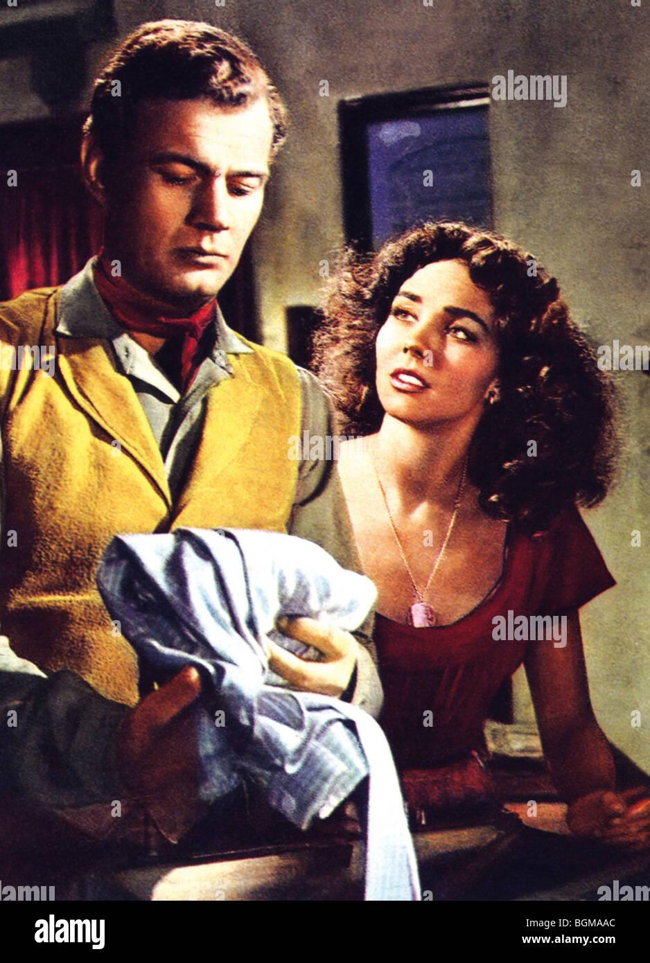 Duel in the Sun  Year : 1946  Director : King Vidor Joseph Cotten, Jennifer Jones - Stock Image