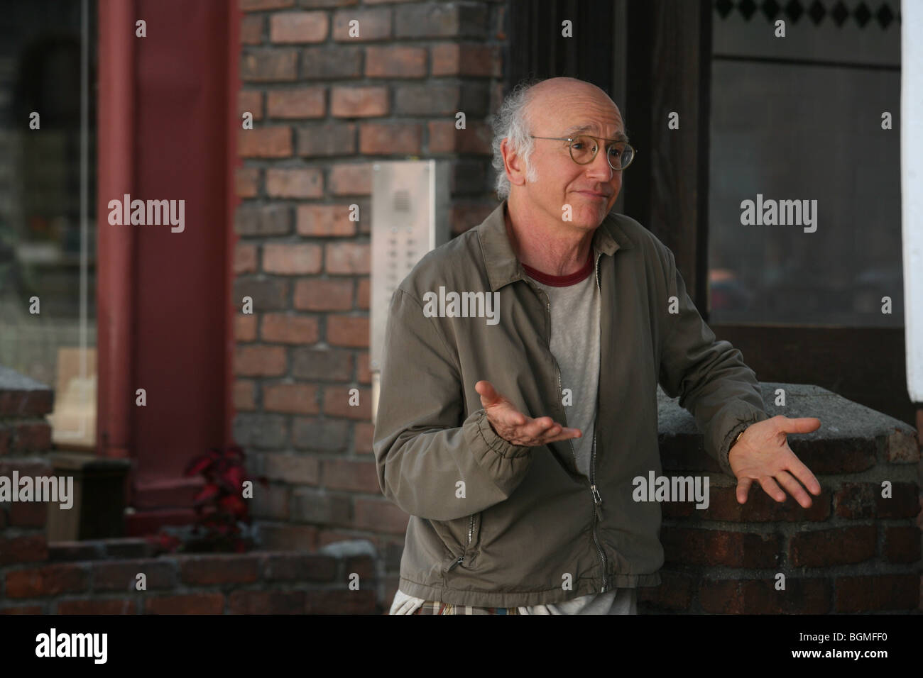 Whatever Works Year : 2009 Director: Woody Allen Larry David, - Stock Image