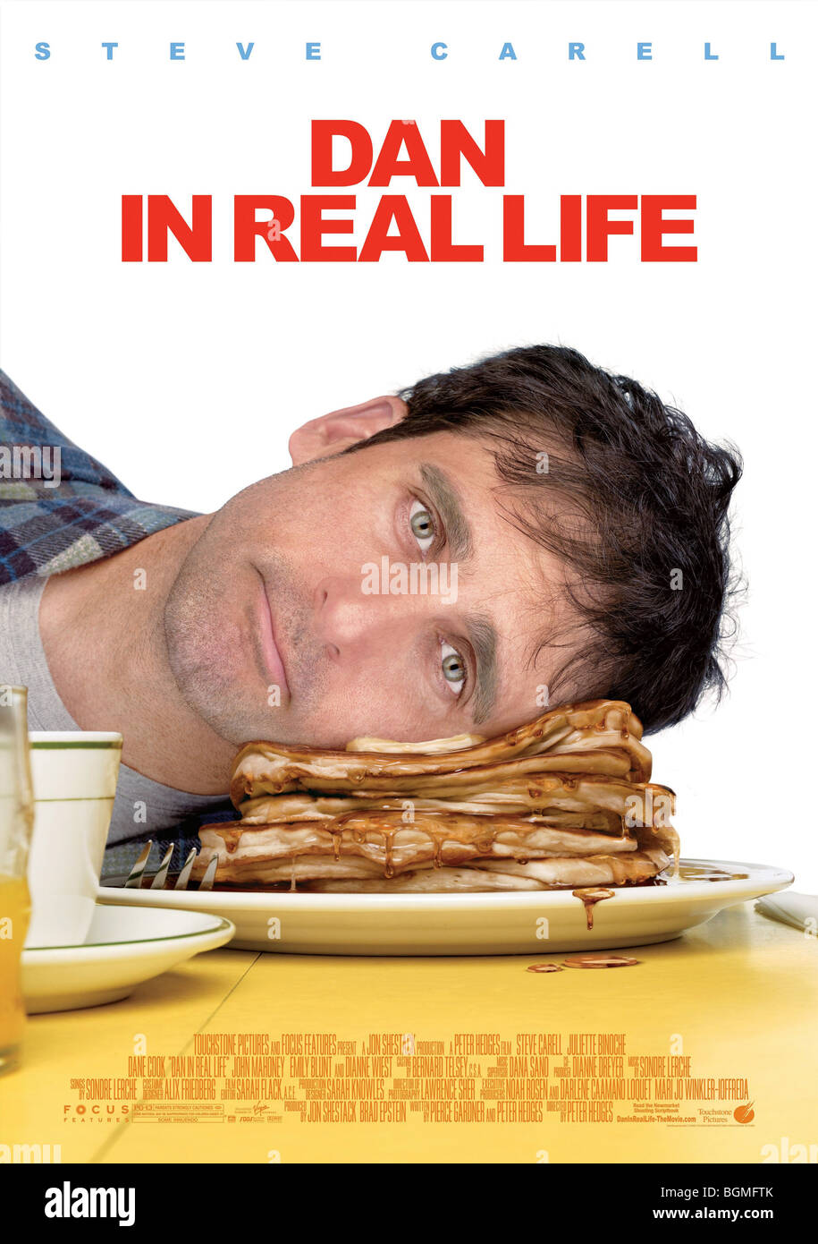 Dan in Real Life  Year: 2007  Steve Carell Director: Peter Hedges Movie poster (USA) - Stock Image
