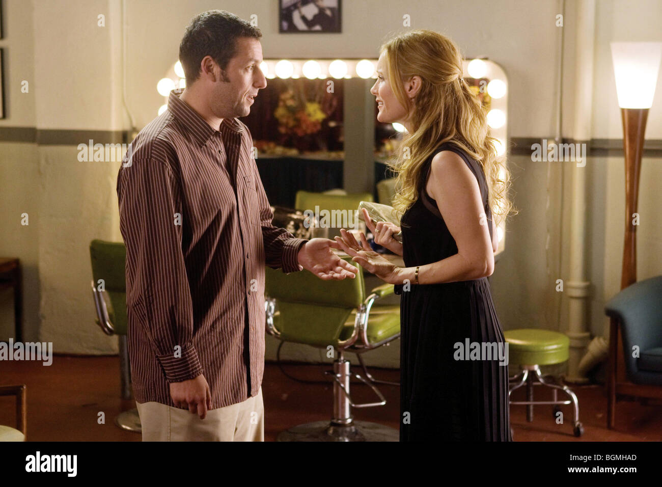 Funny People Year : 2009 Director : Judd Apatow Adam Sandler, Leslie Mann - Stock Image