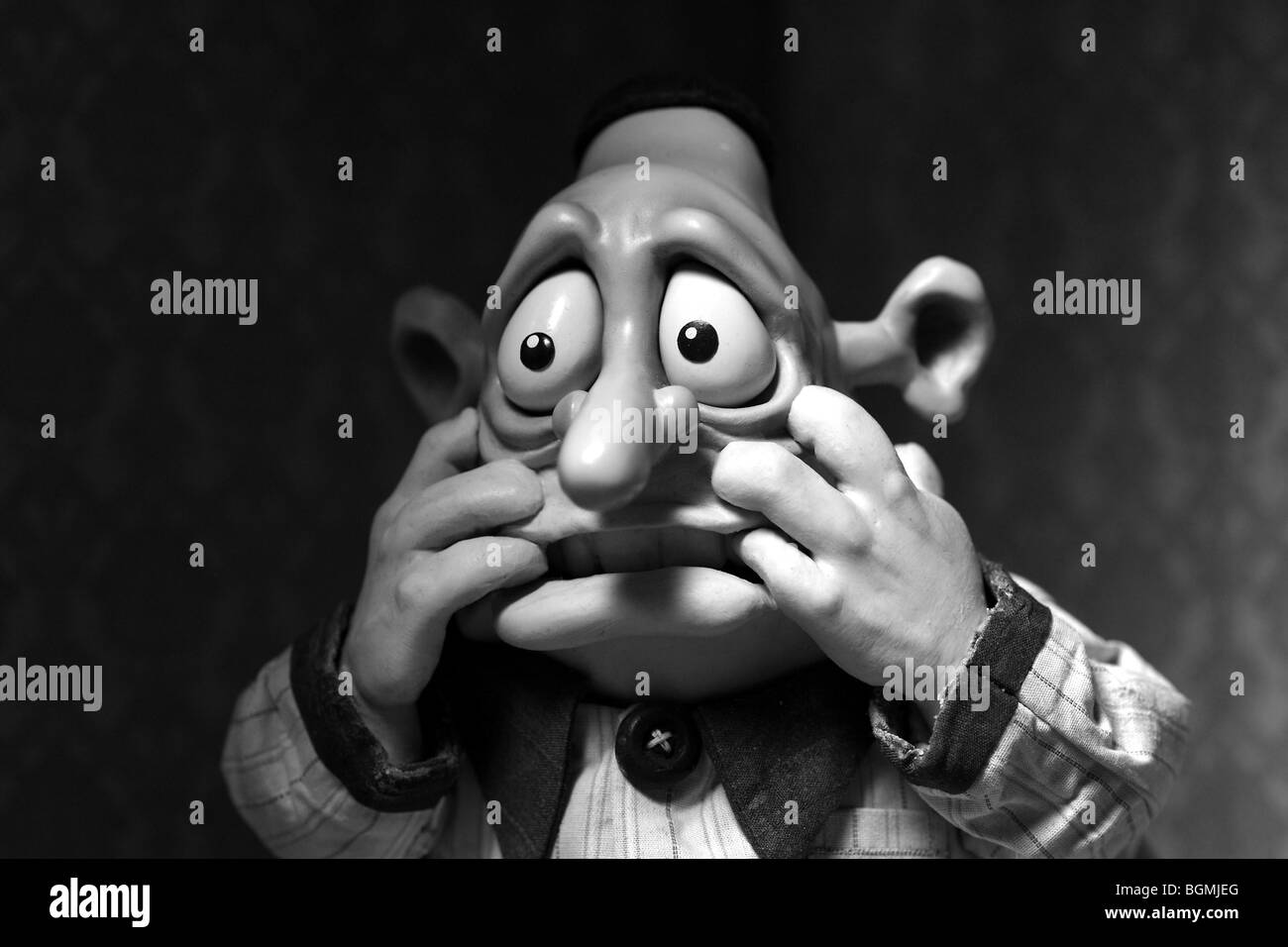 Mary and Max Year : 2009 Director : Adam Elliot Animation - Stock Image