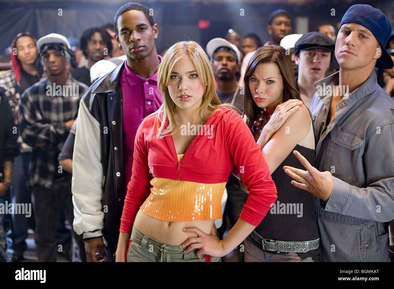 Dance Flick Year : 2009 Director : Damien Dante Wayans Damon Wayans Jr., Shoshana Bush, Christina Murphy, Ross Thomas - Stock Image