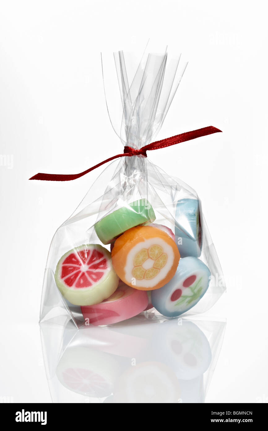 bag of sweets - Stock Image