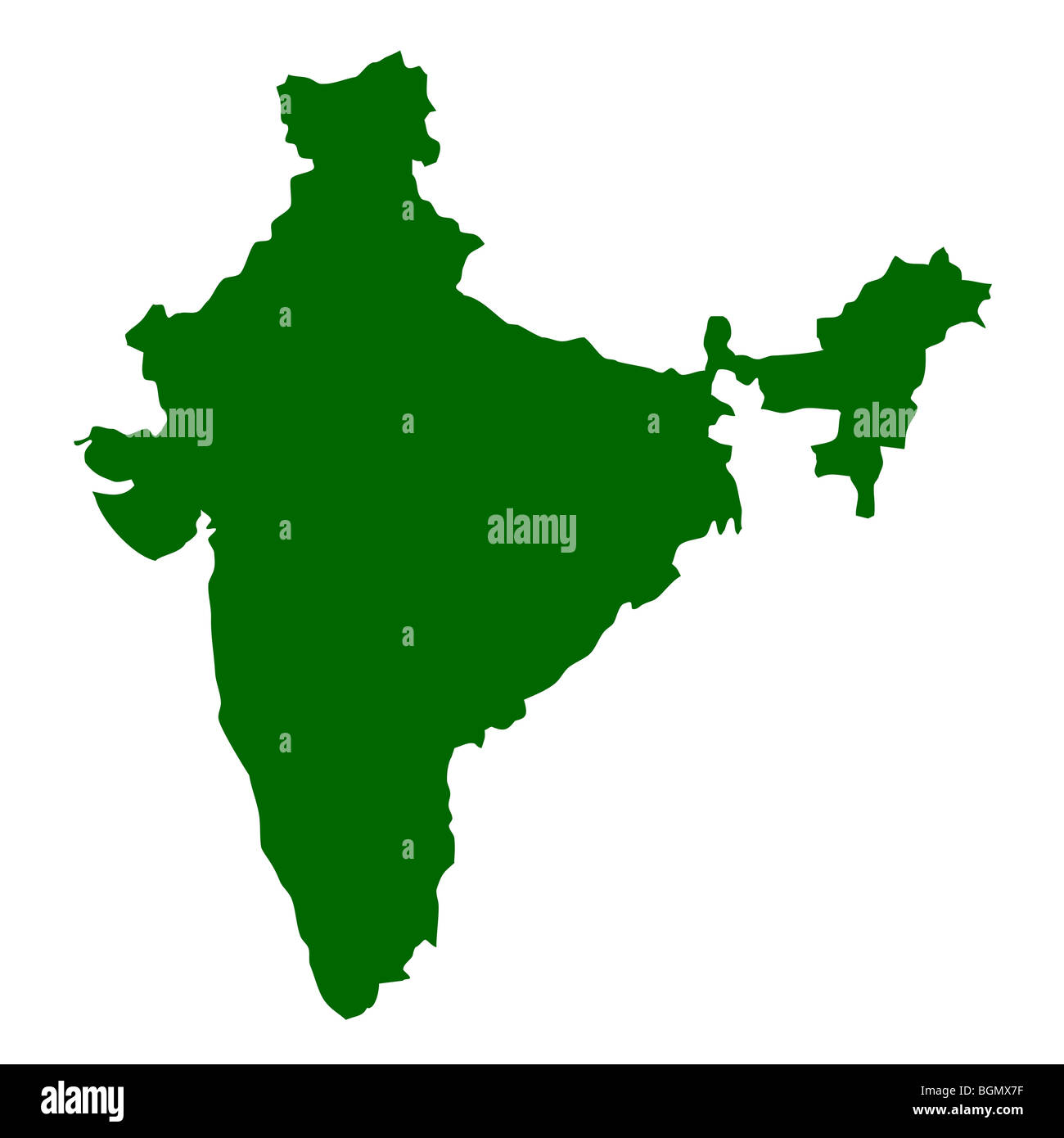 India Map Cut Out Stock Images & Pictures - Alamy