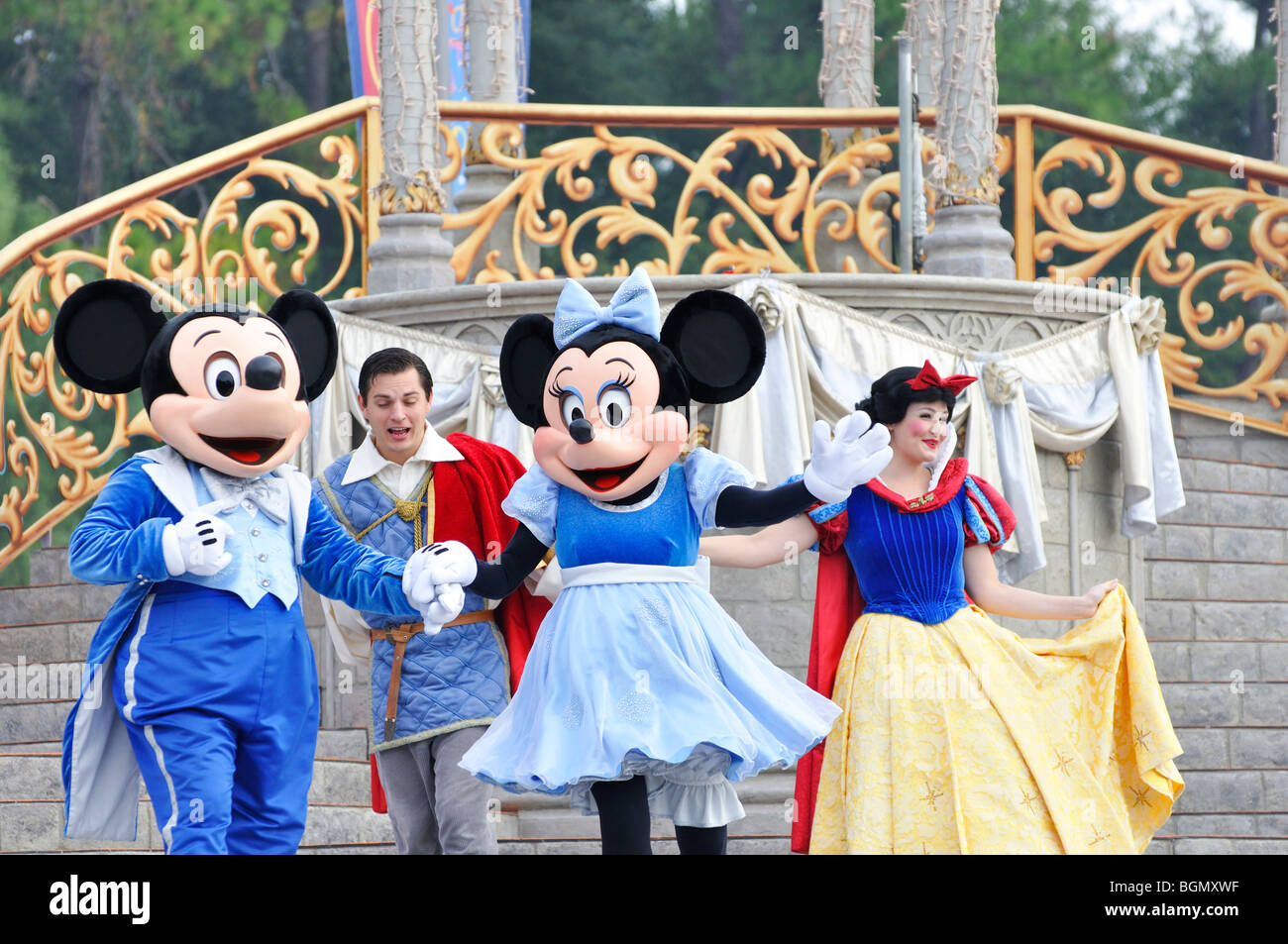 Disneyworld, Orlando, Florida, USA Stock Photo