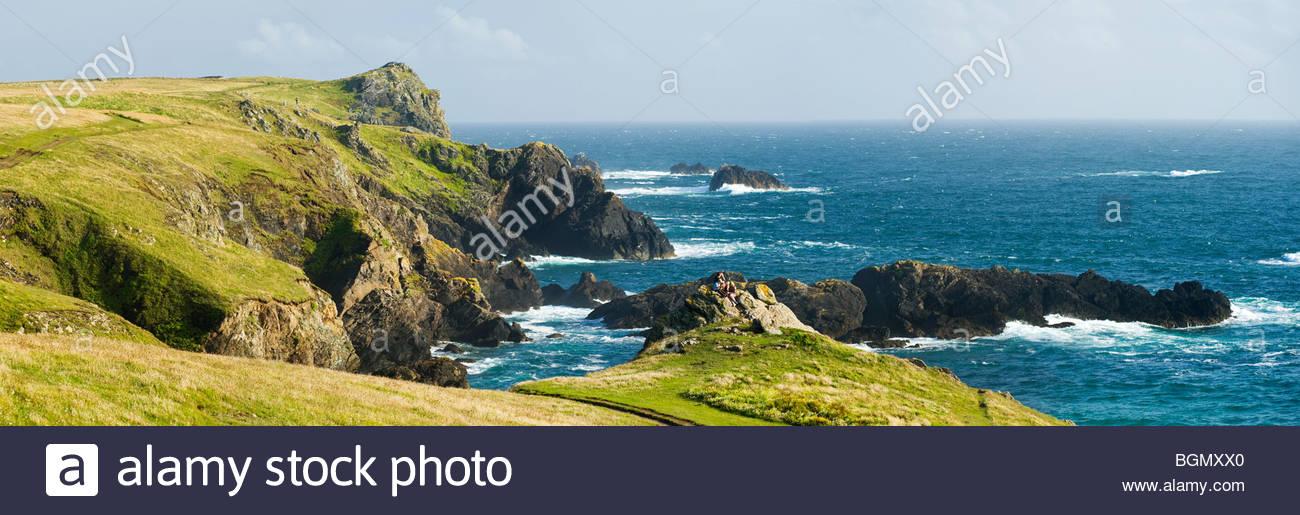 The Lizard Peninsula, Cornwall, England. - Stock Image