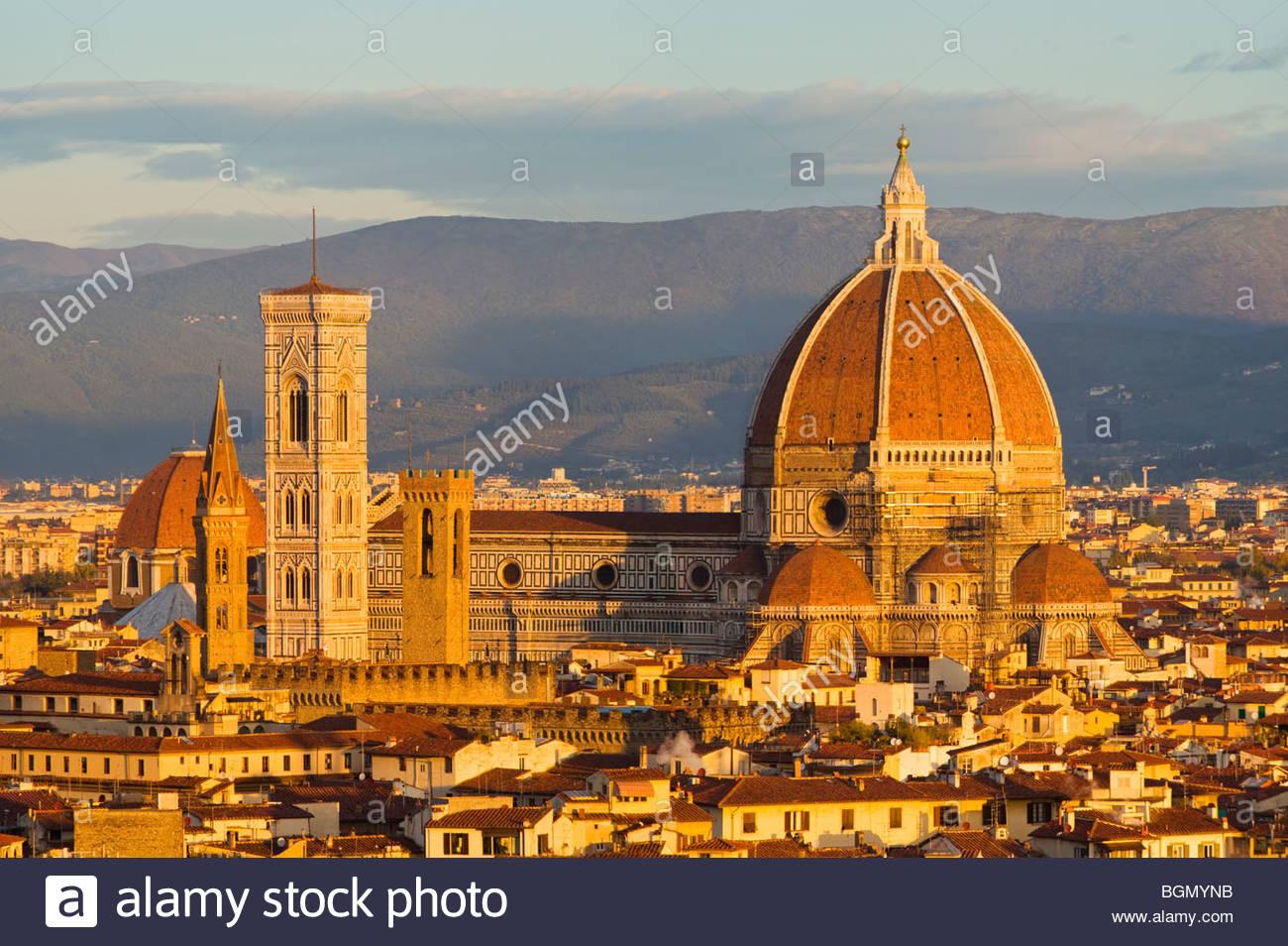 The Duomo (Basilica di Santa Maria del Fiore), Florence, Tuscany, Italy. - Stock Image