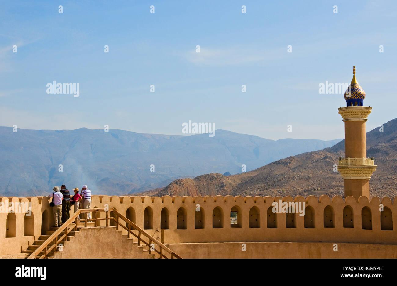 Nizwa fort Sultanate of Oman - Stock Image
