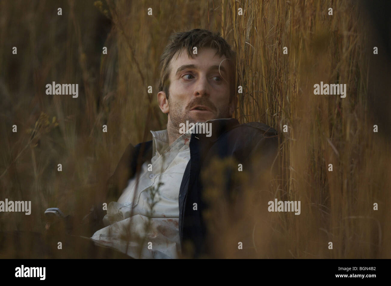 District 9 Year : 2009 Director : Neill Blomkamp Sharlto Copley - Stock Image