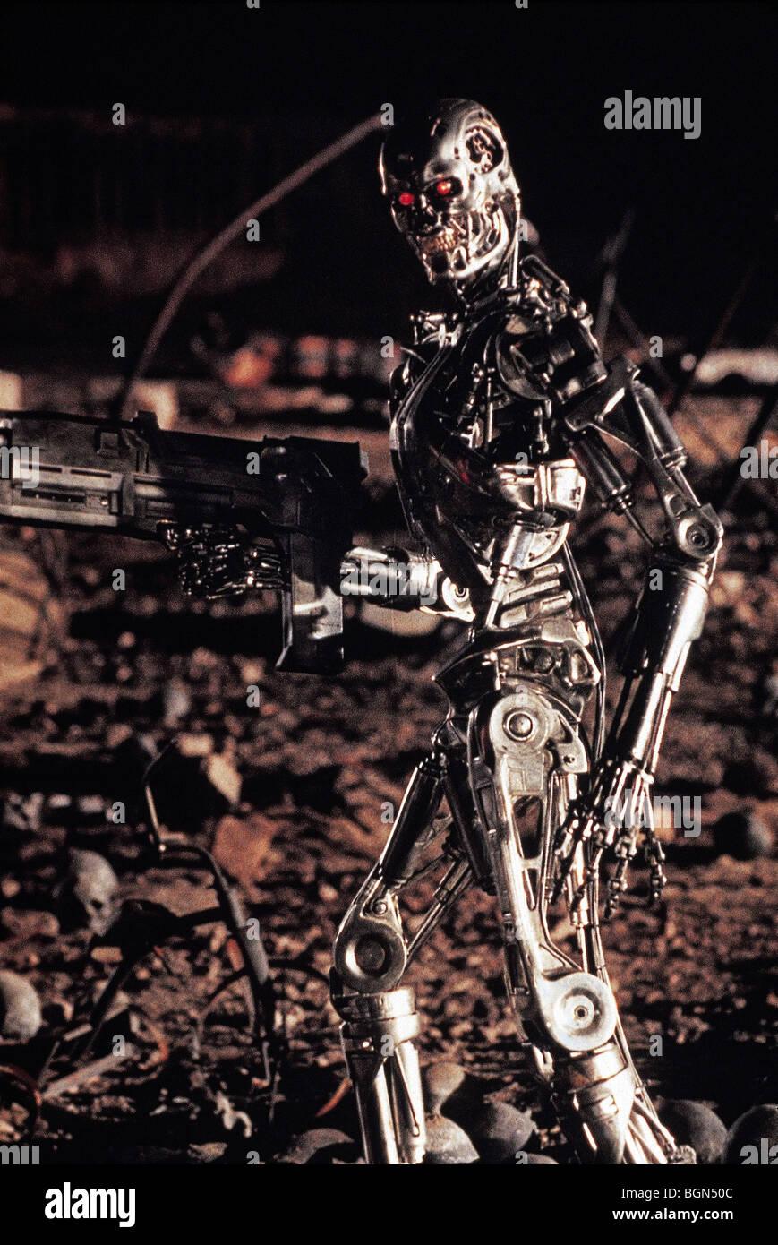 Terminator 2: Judgment Day  Year : 1991  Director : James Cameron - Stock Image
