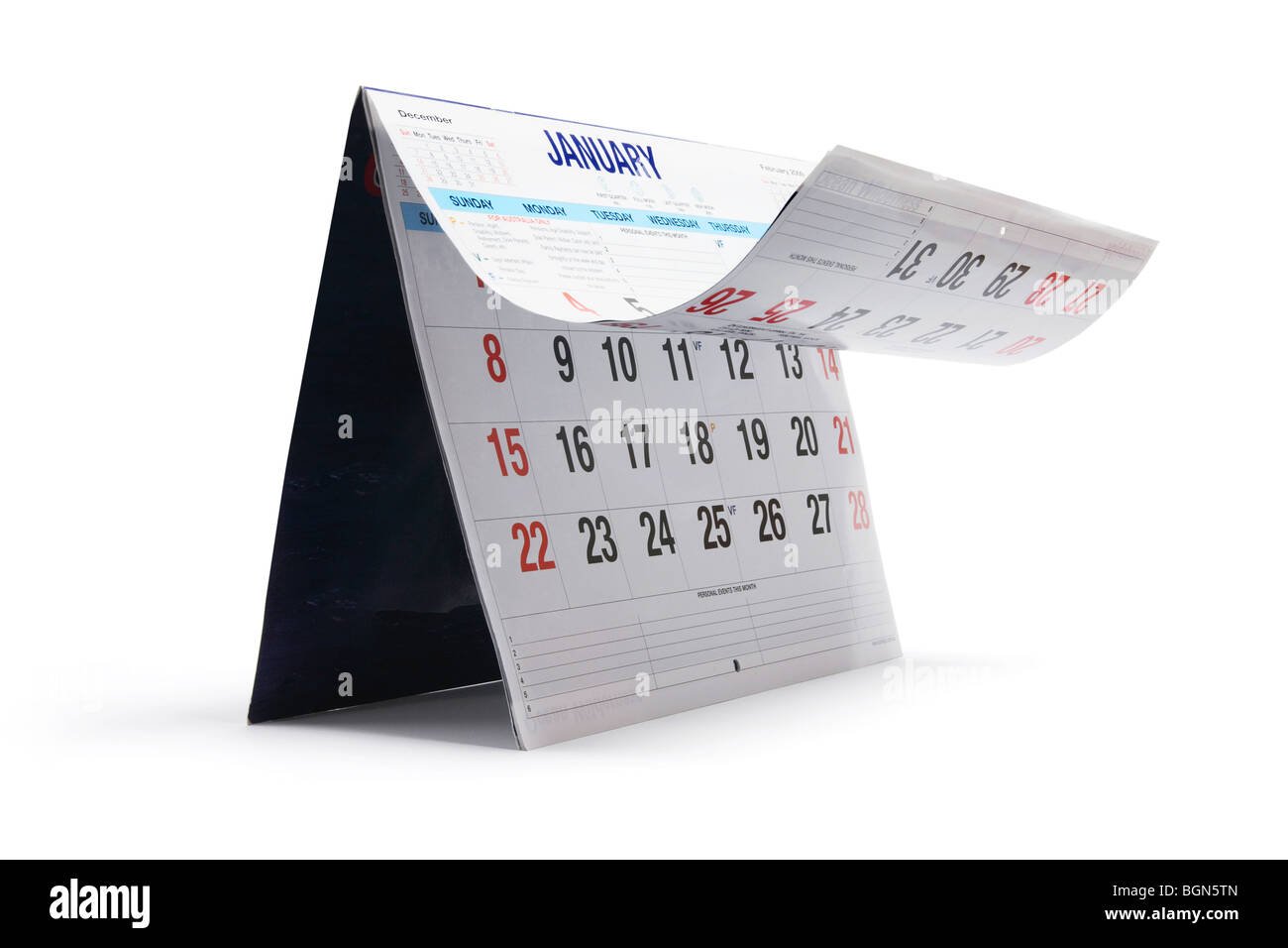 Calendar - Stock Image