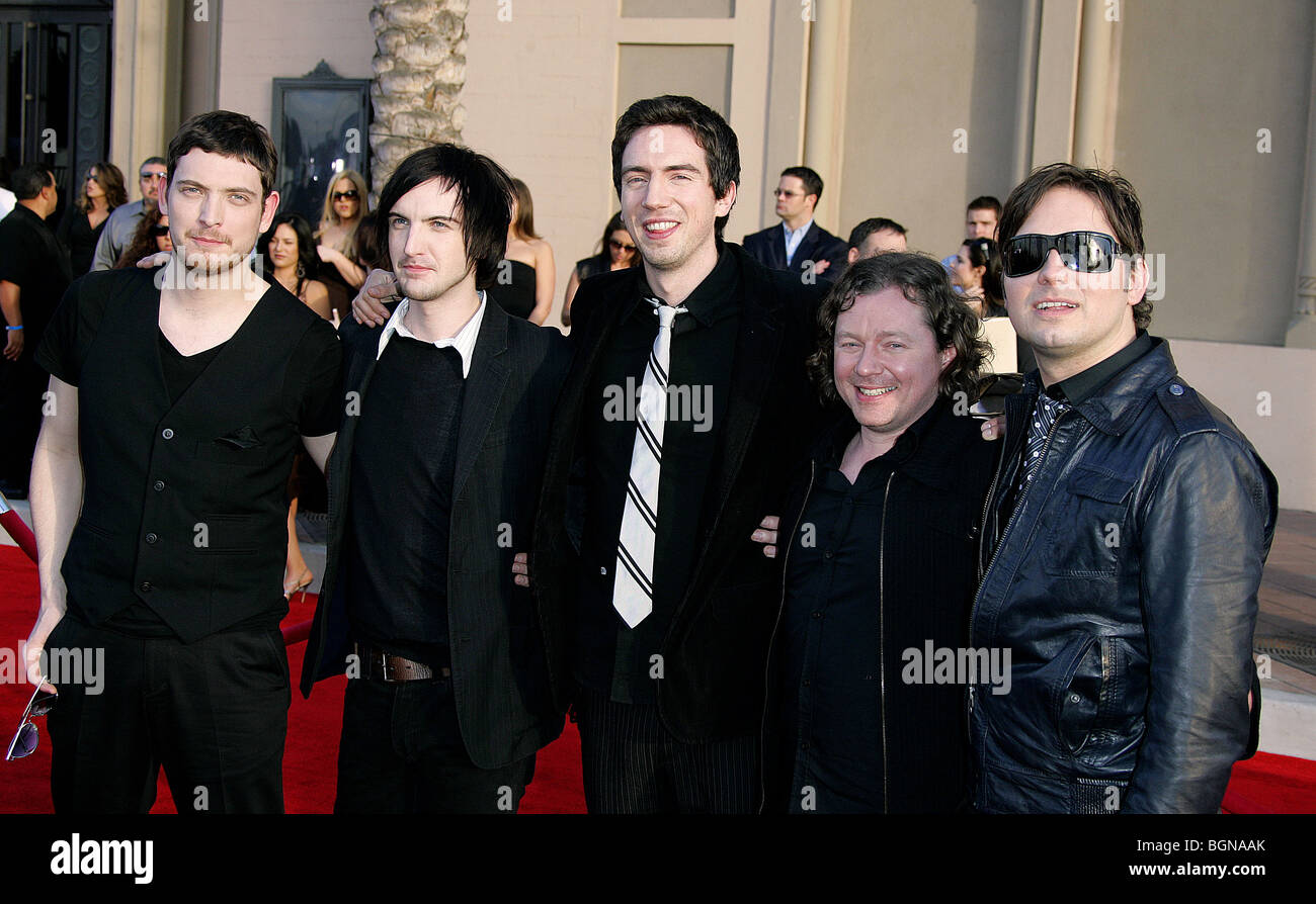 Snow Patrol  American Music Awards Downtown Los Angeles California Usa  Stock