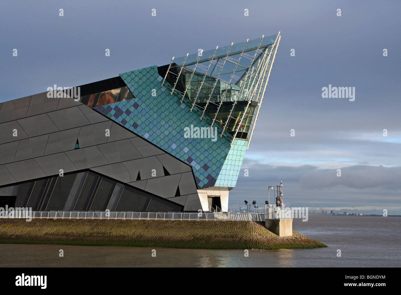 The Deep Aquarium in Hull, East Riding Of Yorkshire, UK - Stock Image