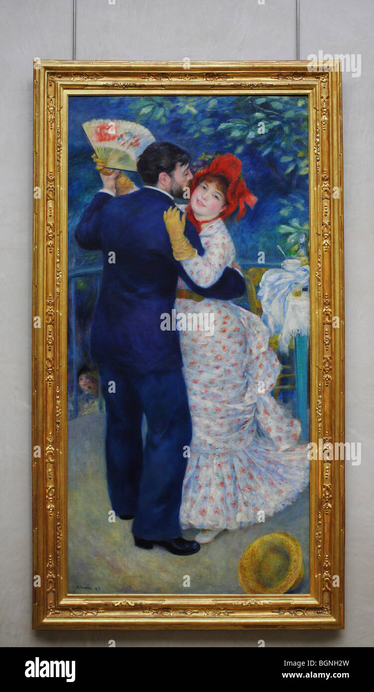 Country Dance By Pierre Auguste Renoir Musée D Orsay Orsay Museum Stock Photo Alamy