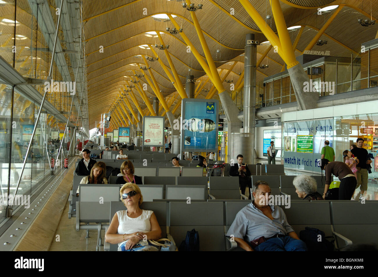 Barajas International Airport Terminal, Madrid, Spain ...