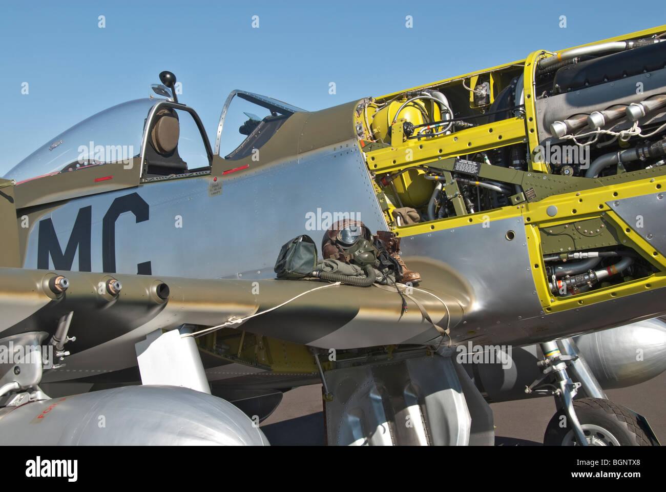Nevada Reno Air Races P-51D Mustang display aircraft WW2