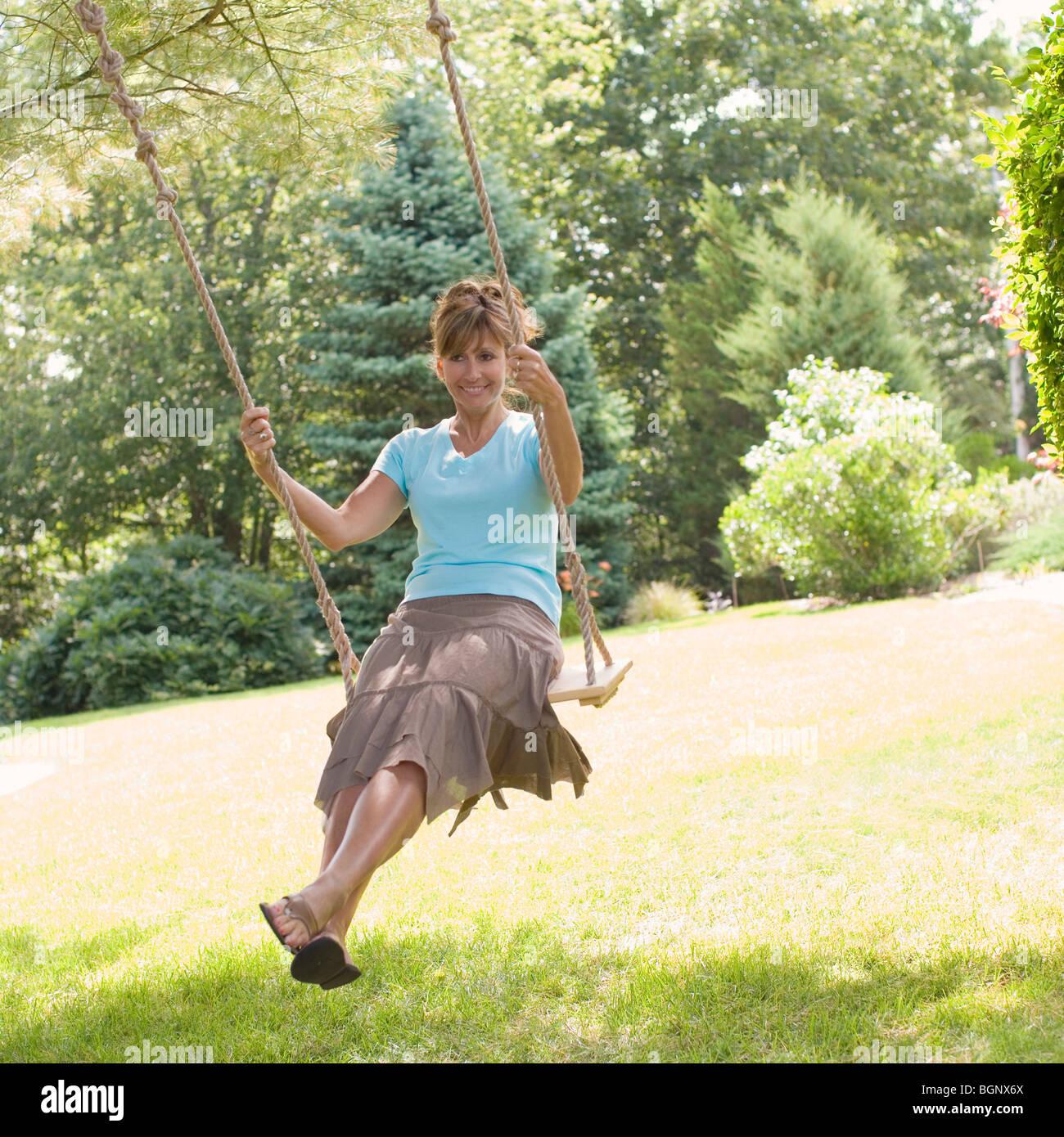 Mature swinging pics