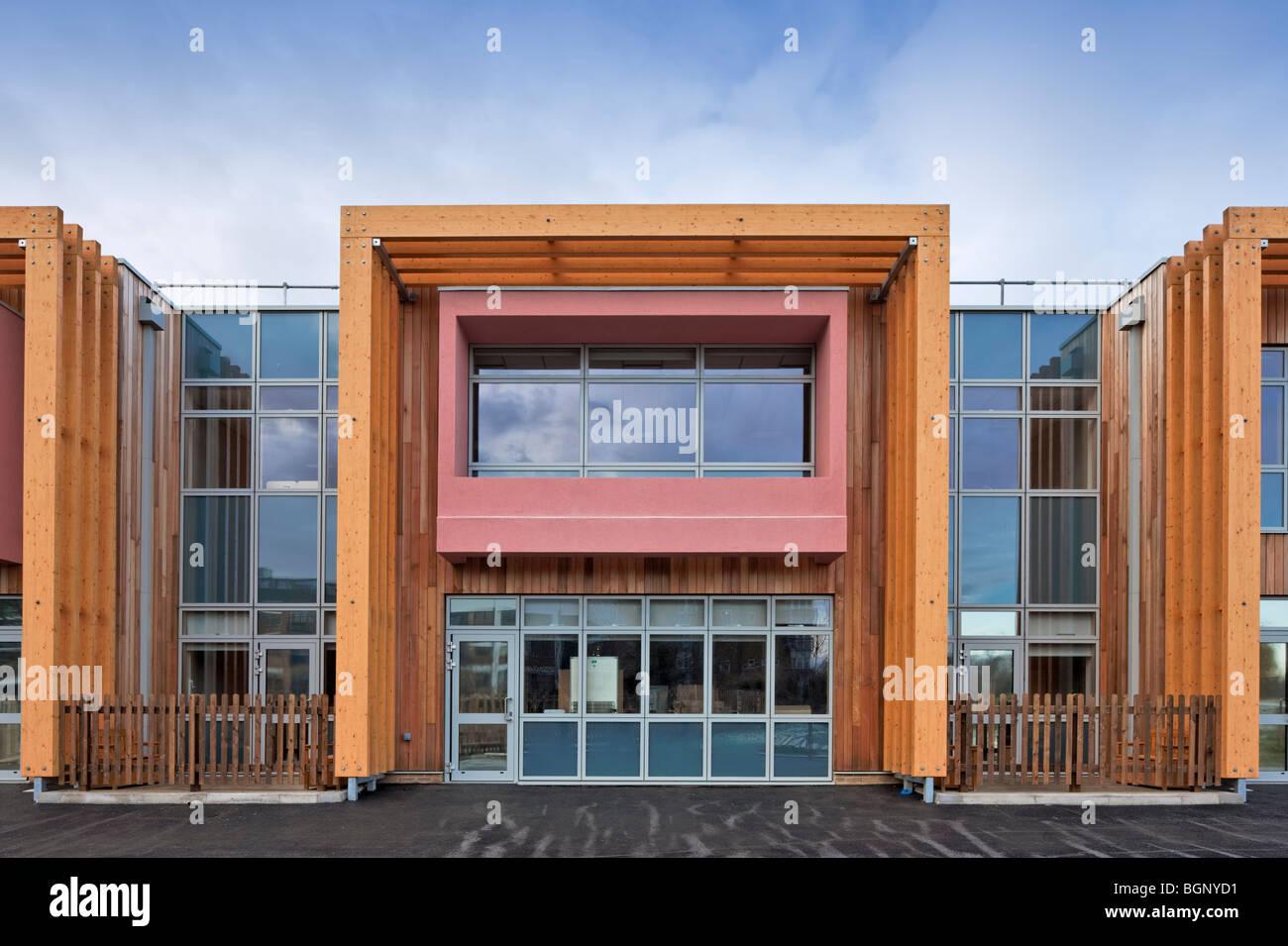Ben Johnson School in Tower Hamlets, London. - Stock Image