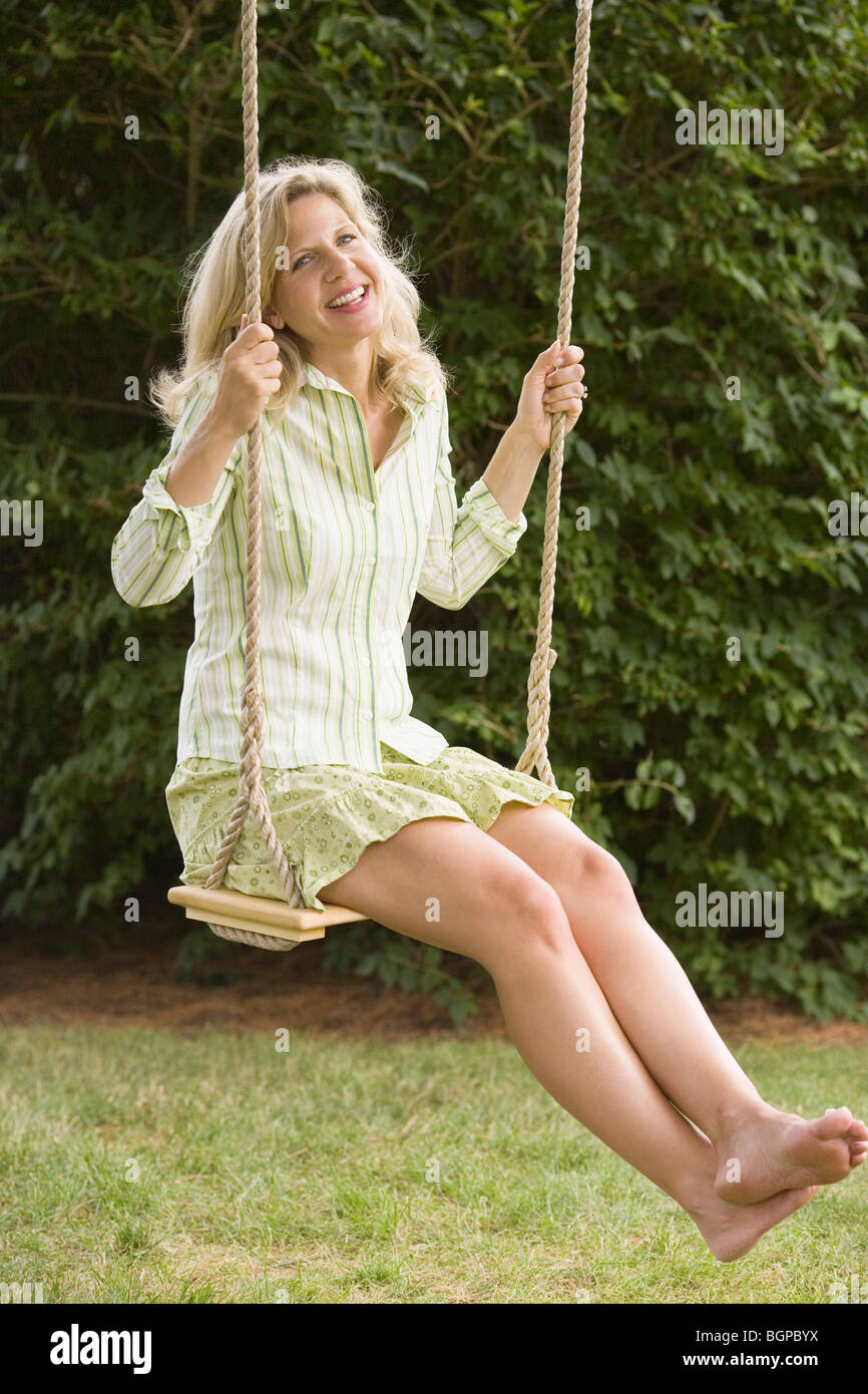Mature swinging pics