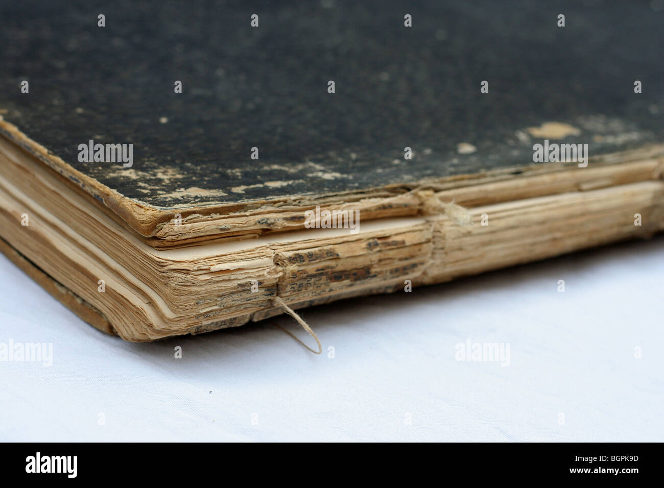 Ancient book - Stock Image