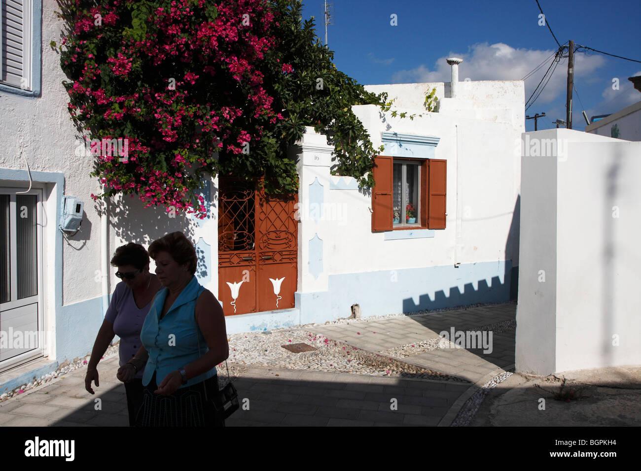 Travel Rhodes, Greece / Reiseziel Rhodos, Griechenland - Stock Image