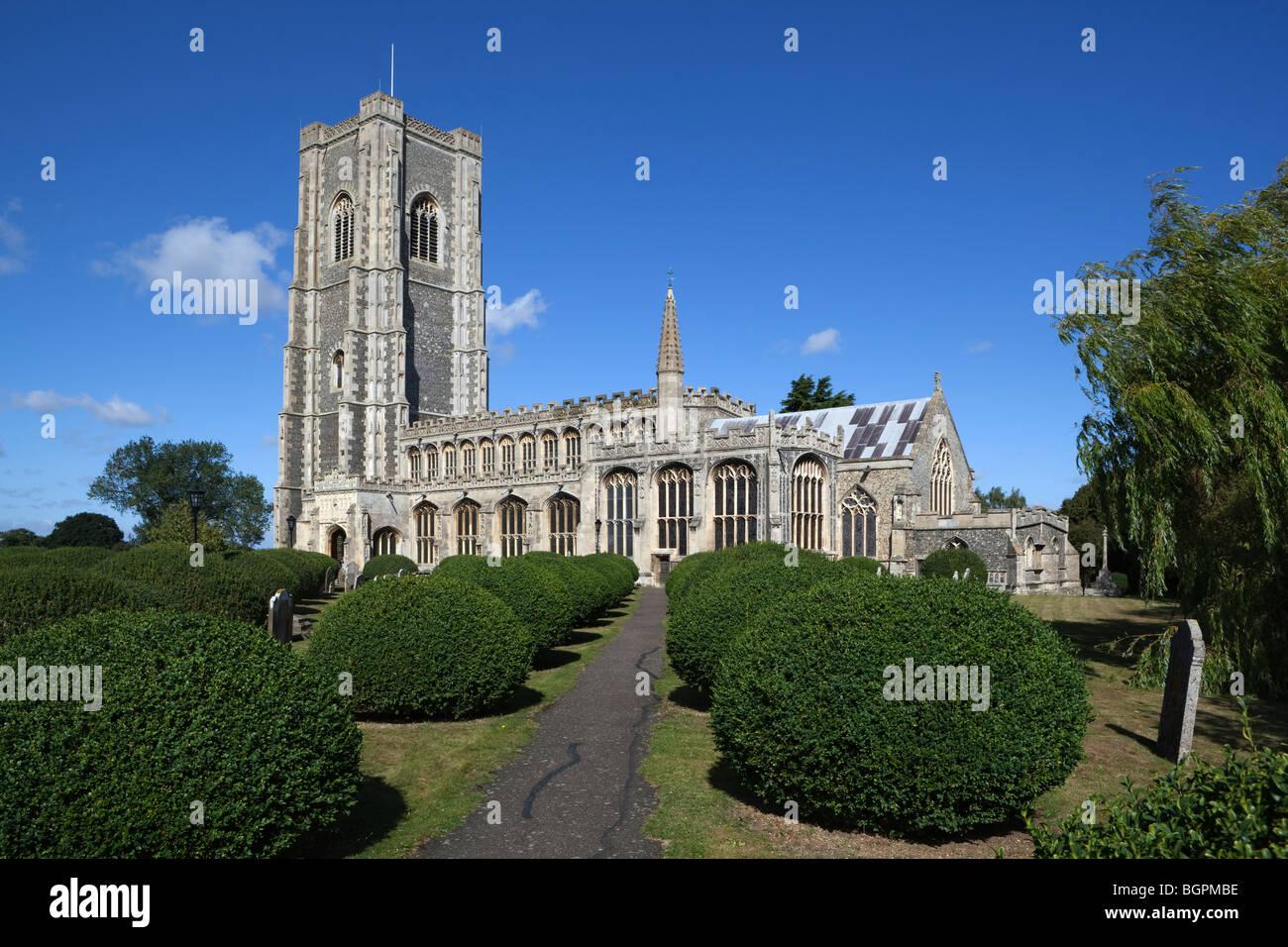 Lavenham church Stock Photo
