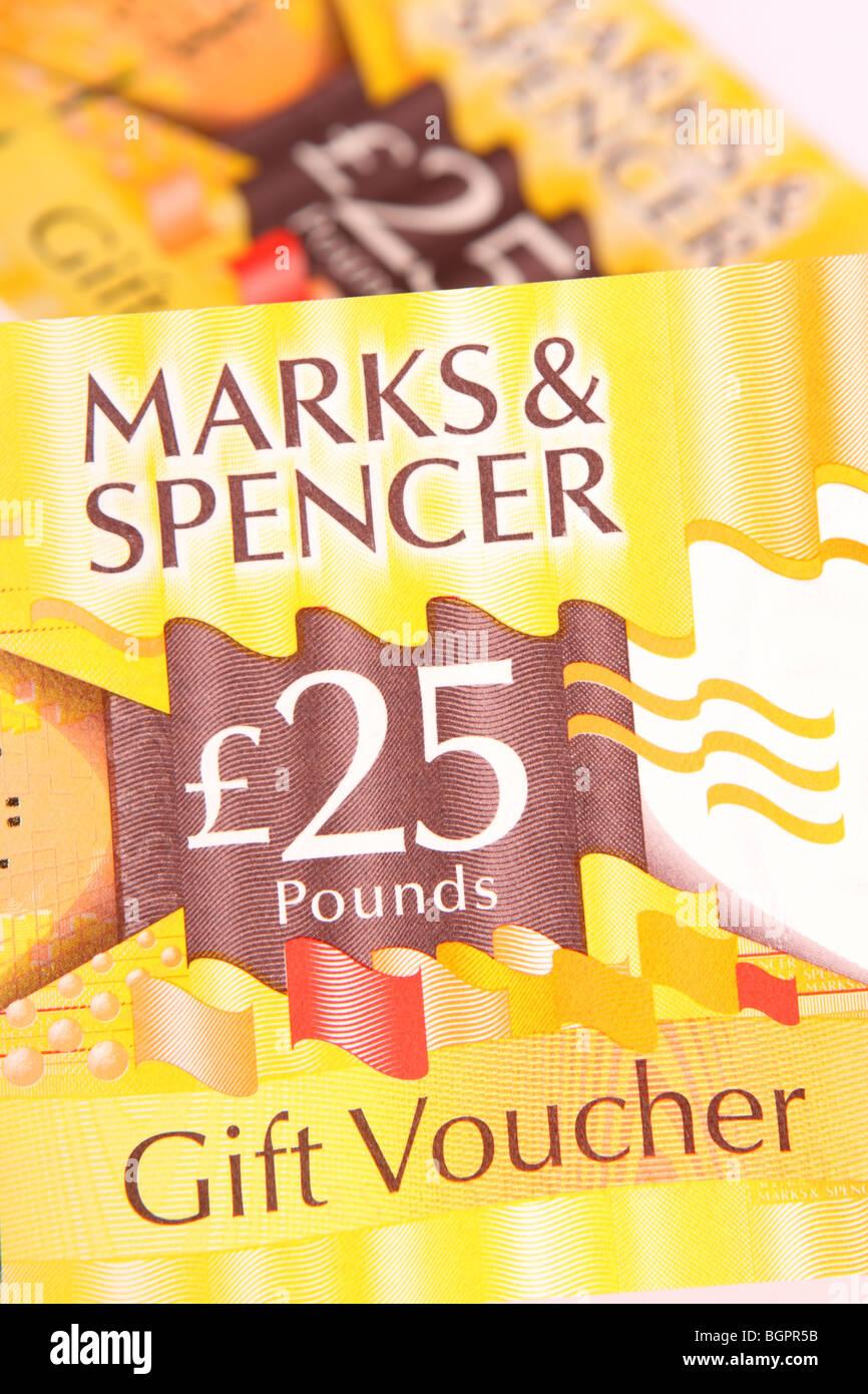 Marks & Spencer £25 gift store voucher