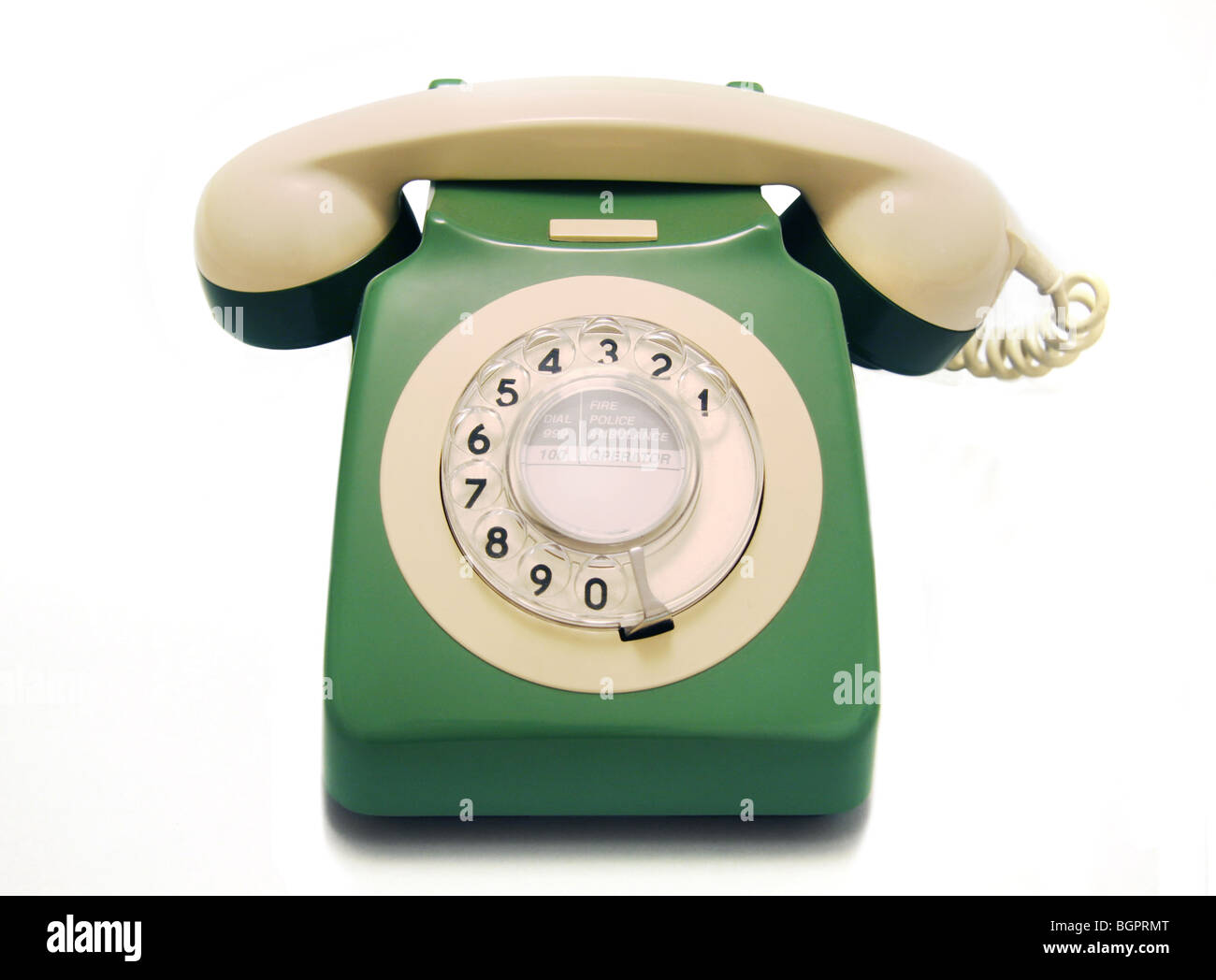 Old Fashioned Phone Green Stock Photos Old Fashioned Phone Green