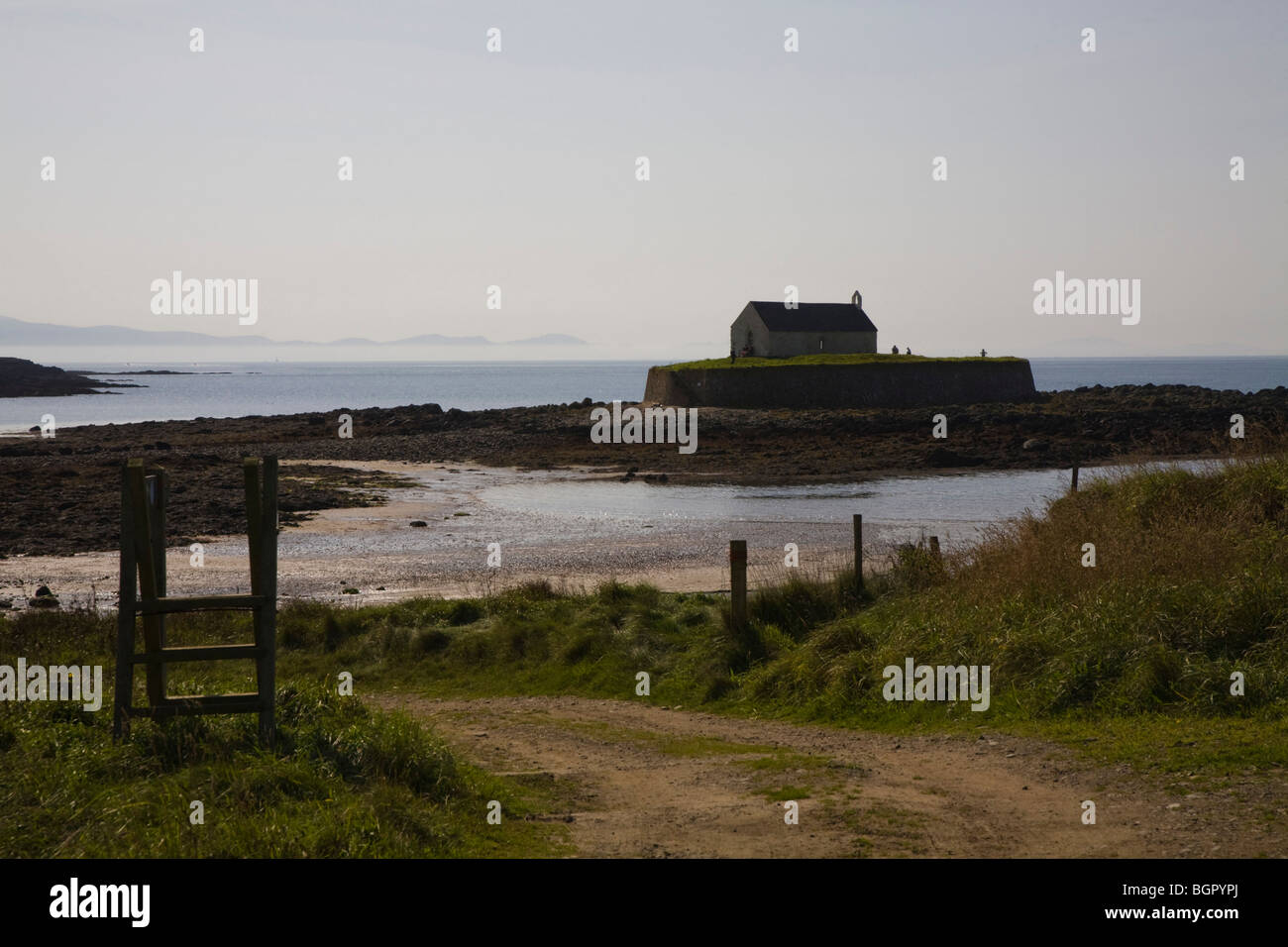Ty Cwyfan, Anglesey, Wales - Stock Image