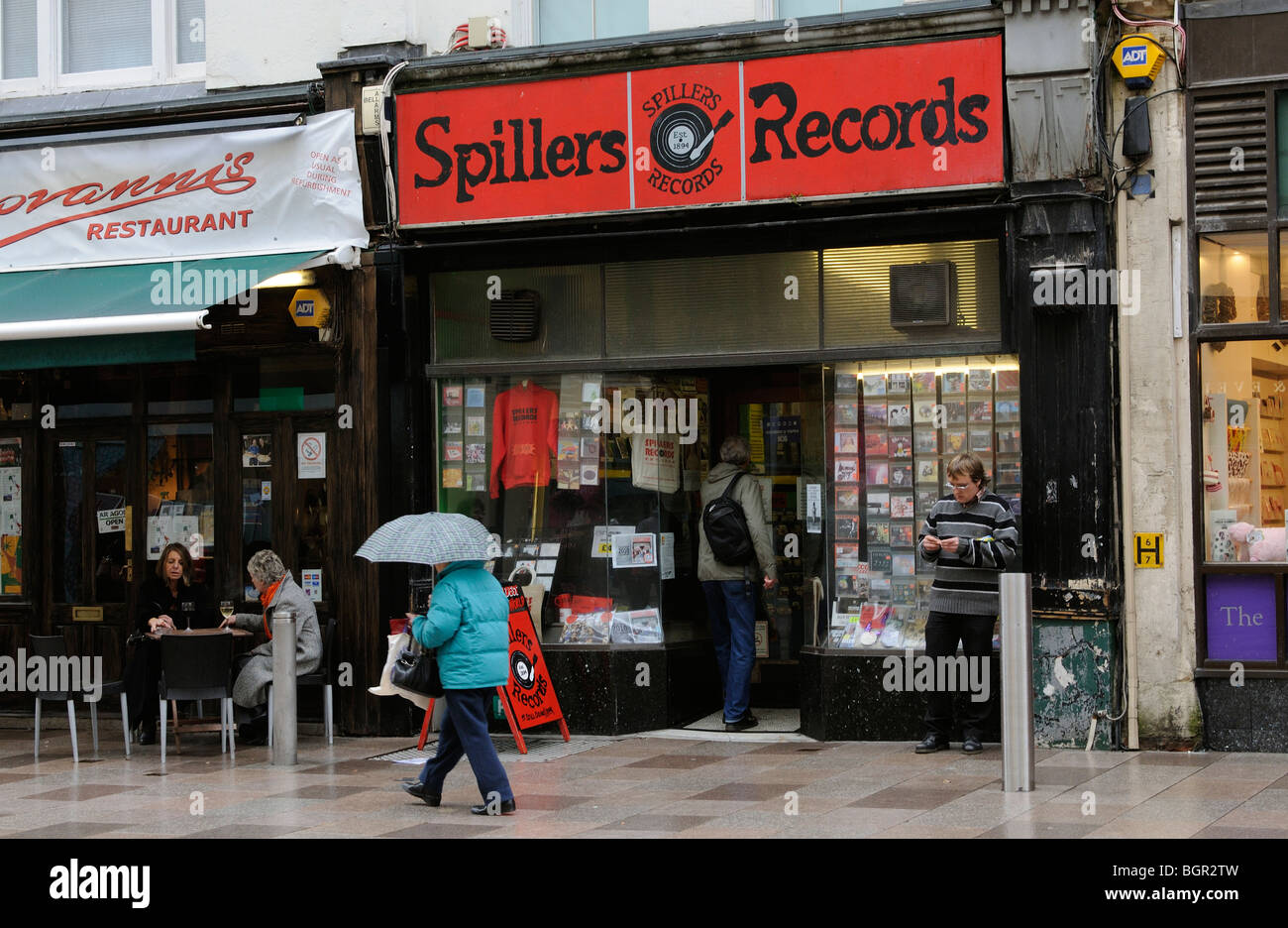 Old Record Shop Stock Photos Amp Old Record Shop Stock