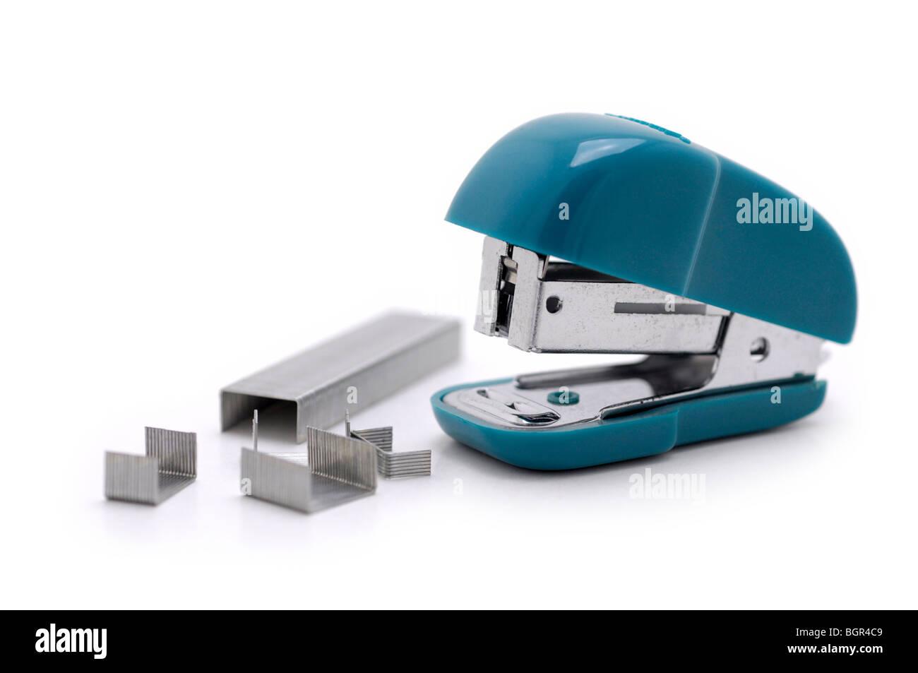 Stapler and Staples - Stock Image