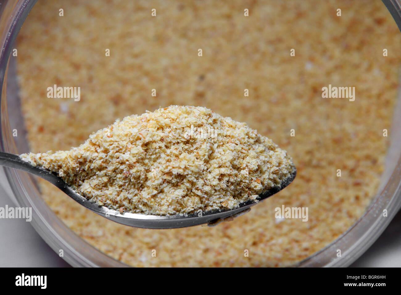 Wheat germ. - Stock Image