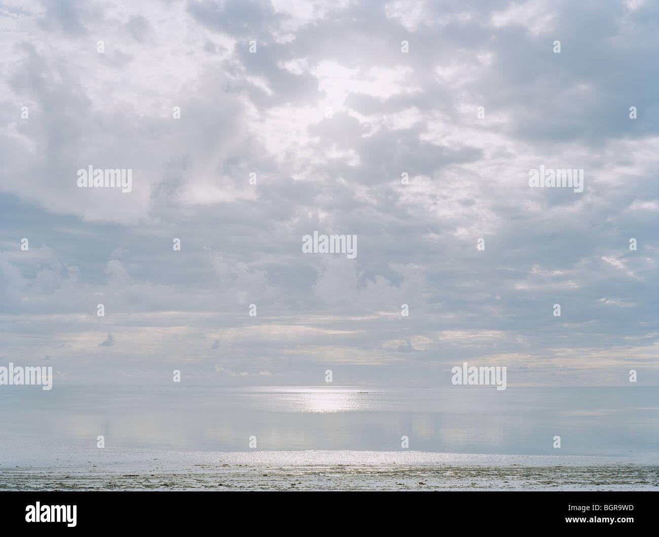 Heaven and ocean - Stock Image