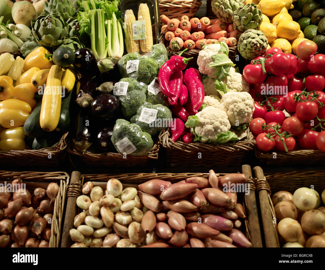 Greengrocery. - Stock Image