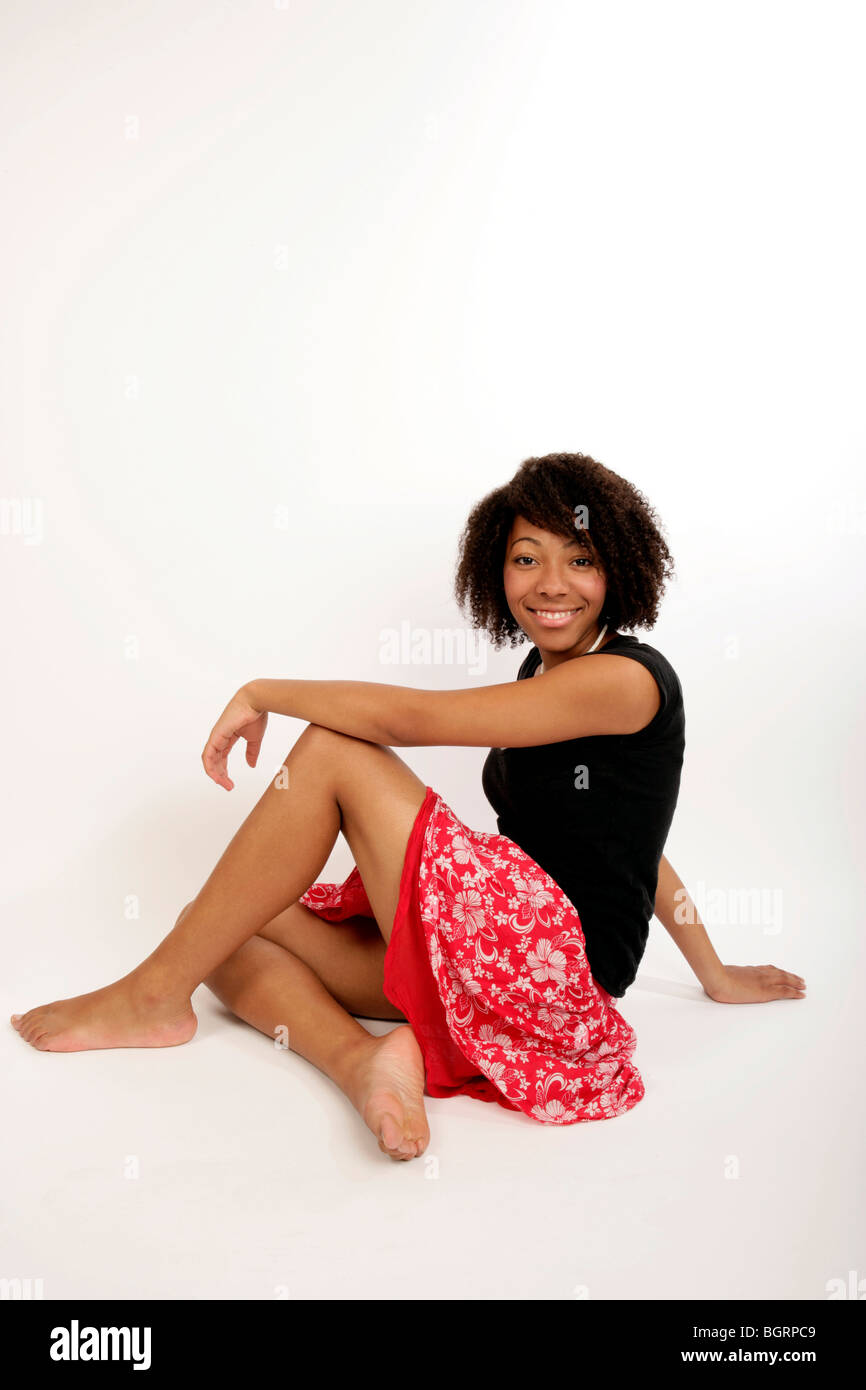 Mature lady ebony soles