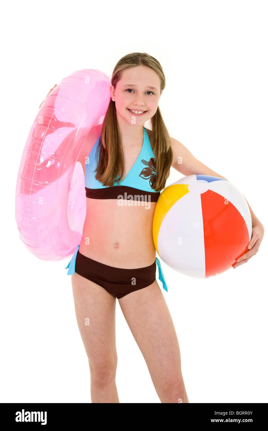 Bikini girl background