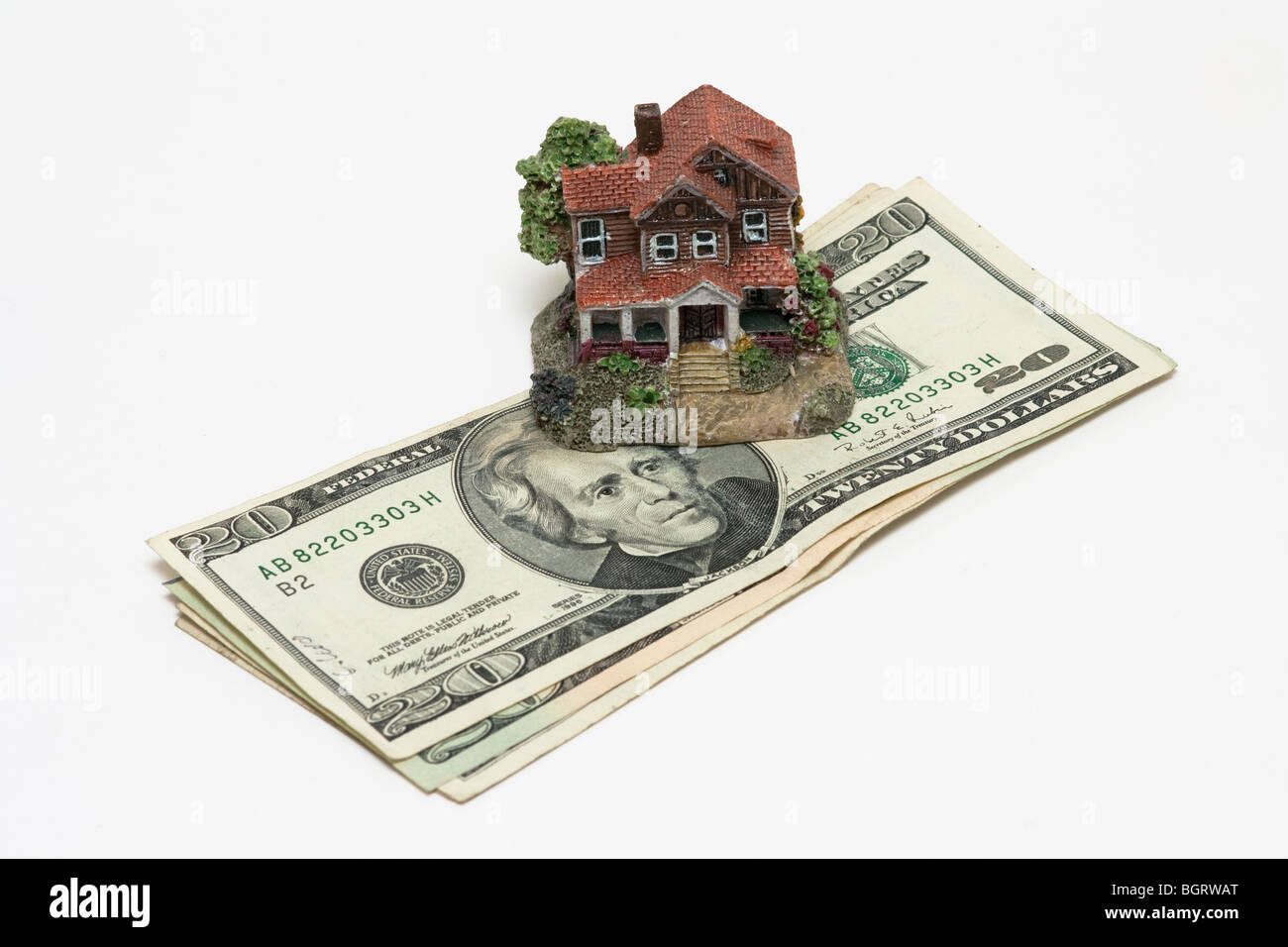 US,housing,debt,mortgage,home,house,market - Stock Image